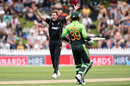 Tim Southee appeals, New Zealand v Pakistan, 1st ODI, Wellington, January 6, 2018