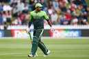 Sarfraz Ahmed walks back after being dismissed, New Zealand v Pakistan, 1st ODI, Wellington, January 6, 2018