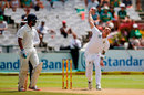 Dale Steyn sends one down,  South Africa v India, 1st Test, Cape Town, 2nd day, January 6, 2018