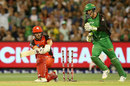 Aaron Finch was bowled trying to sweep, Melbourne Stars v Melbourne Renegades, BBL 2017-18, Melbourne, January 6, 2018