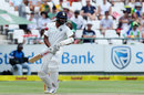 Ravichandran Ashwin avoids a rising delivery, South Africa v India, 1st Test, Cape Town, 2nd day, January 6, 2018