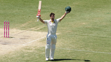 Mitchell Marsh made his second Test century
