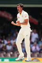 Mitchell Starc struck in his second over, Australia v England, 5th Test, Sydney, 4th day, January 7, 2018
