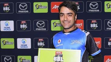 Rashid Khan scooped the Man-of-the-Match award