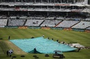 Rain kept the groundstaff busy, 1st Test, Cape Town, 3rd day, January 7, 2018