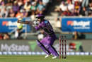 Matthew Wade cuts one, Hobart Hurricanes v Sydney Sixers, BBL 2017-18, January 8, 2018
