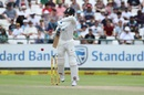 M Vijay defends a short ball with soft hands, South Africa v India, 1st Test, Cape Town, 4th day, January 8, 2018