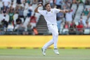 Morne Morkel is ecstatic after dismissing Cheteshwar Pujara, South Africa v India, 1st Test, Cape Town, 4th day, January 8, 2018