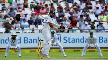 Shikhar Dhawan was undone by the short ball