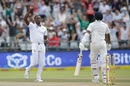 Kagiso Rabada relished the wicket of Hardik Pandya, South Africa v India, 1st Test, Cape Town, 4th day, January 8, 2017