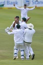 Vernon Philander took three wickets in four balls to seal South Africa's win, South Africa v India, 1st Test, Cape Town, 4th day, January 8, 2018