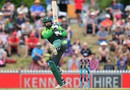 Mohammad Hafeez picks one up over the leg side, New Zealand v Pakistan, 2nd ODI, Nelson, January 9, 2018