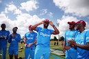 Raymon Reifer receives his Test cap, New Zealand v West Indies, second Test, day one, Hamilton,  December 9, 2017