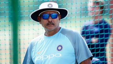 Ravi Shastri has his eyes on the nets