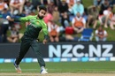 Faheem Ashraf nipped out Colin Munro early, New Zealand v Pakistan, 3rd ODI, Dunedin, January 13, 2018