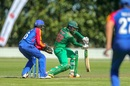 Saif Hasan glides the ball away, Bangladesh v Namibia, Under-19 World Cup 2018, Group C, Lincoln