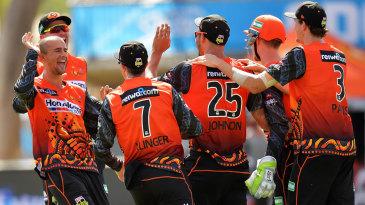 Ashton Agar ran through Adelaide Strikers' middle order
