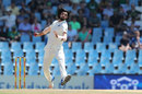 Ishant Sharma in his delivery stride, South Africa v India, 2nd Test, day 1, Centurion, January 13, 2018