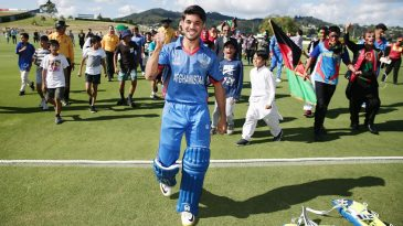 Qais Ahmad savours Afghanistan's win in their opening game