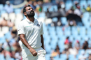Mohammed Shami reacts in the field, South Africa v India, 2nd Test, day 1, Centurion, January 13, 2018