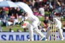 Faf du Plessis turns the ball towards the leg side, South Africa v India, 2nd Test, Centurion, 1st day, January 13, 2018