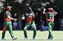 Out comes Gerard Mwendwa's celebratory jig, South Africa v Kenya, U-19 World Cup, Lincoln, January 14, 2018