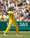 Aaron Finch was in terrific touch from the first ball of his innings, Australia v England, 1st ODI, Melbourne, January 14, 2018