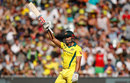 Marcus Stoinis added power to the later stages of Australia's innings, Australia v England, 1st ODI, Melbourne, January 14, 2018