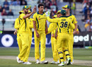 Mitchell Starc made the opening incision, Australia v England, 1st ODI, Melbourne, January 14, 2018