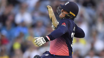 Jason Roy raised his fourth ODI hundred