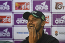 Mashrafe Mortaza finds a reason to smile in a press interaction, Dhaka, January 14, 2018