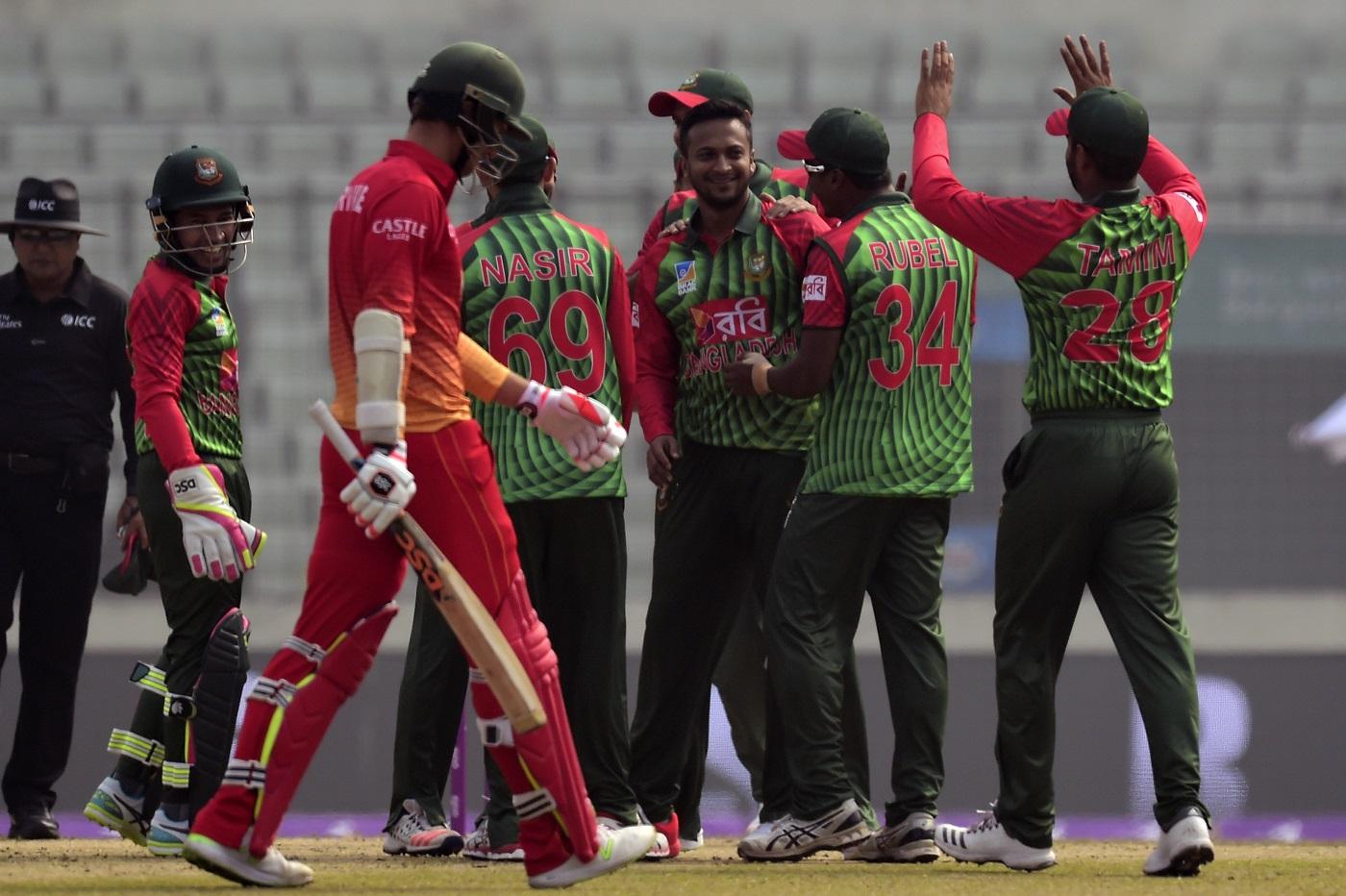 Bangladesh vs Zimbabwe 1st ODI Highlights