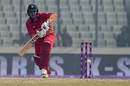 Brendan Taylor drives down the ground, Bangladesh v Zimbabwe, tri-series, Mirpur, January 15, 2018