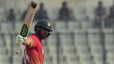 Sikandar Raza is in commanding form in the tri-series