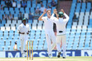 Morne Morkel celebrates the wicket of Mohammed Shami, South Africa v India, 2nd Test, Centurion, 3rd day, January 15, 2018