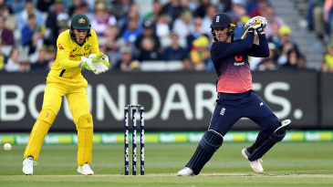 Jason Roy now holds the record for the highest score against Australia in a home ODI
