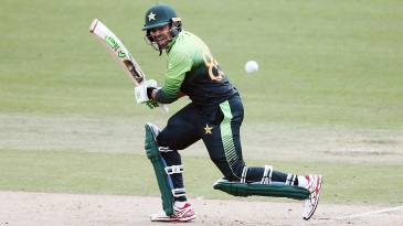 Haris Sohail was good both sides of the wicket