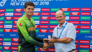 Shaheen Afridi's six wickets sent Ireland clattering to 97 all out