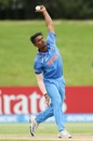 Anukul Roy ripped through PNG with five wickets, India v Papua New Guinea, Under-19 World Cup, Mount Maunganui, January 16, 2018