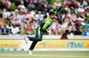 Shadab Khan bowled a seven-over first-spell, New Zealand v Pakistan, 4th ODI, Hamilton, January 16, 2018