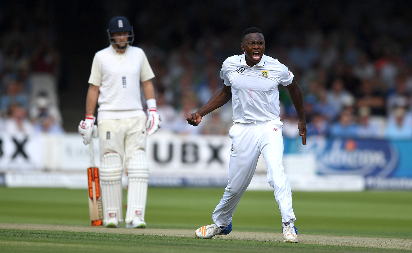 Rabada says he and Stokes are cool now, but it didn't look like that at the time