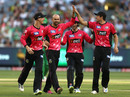 Nathan Lyon bowled an economical spell for three wickets, Melbourne Stars v Sydney Sixers, BBL 2017-18, Melbourne, January 16, 2018