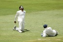 Rohit Sharma displays his frustration behind the stumps, South Africa v India, 2nd Test, Centurion, 4th day, January 16, 2018