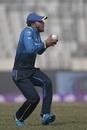 Solomon Mire was caught by Kusal Mendis to give Sri Lanka a breakthrough, Sri Lanka v Zimbabwe, tri-series, Mirpur, January 17, 2018