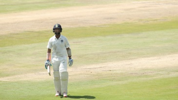 Cheteshwar Pujara became the first Indian to be run-out twice in a Test