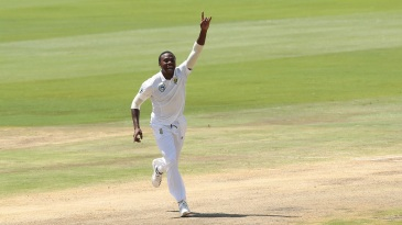 Kagiso Rabada is thrilled to pick up a wicket