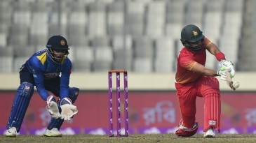 Sikandar Raza struck a counter-attacking fifty