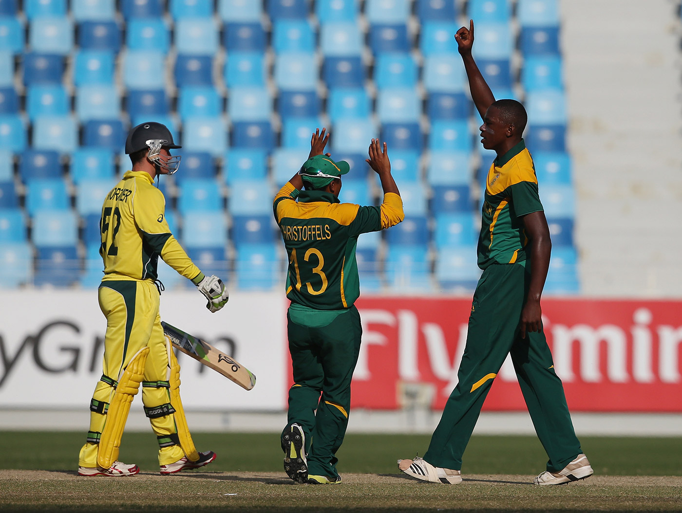 Rabada ripped through Australia U-19s with six wickets in the 2014 junior World Cup semi-final