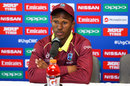 West Indies U-19 captain Emmanuel Stewart during a press conference, Tauranga, January 17, 2018