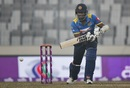 Angelo Mathews plays through the off side, Sri Lanka v Zimbabwe, tri-series, Mirpur, January 17, 2018